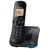 Panasonic KX-TGC210PDB DECT hívóazonosítós kihangosítható fekete telefon