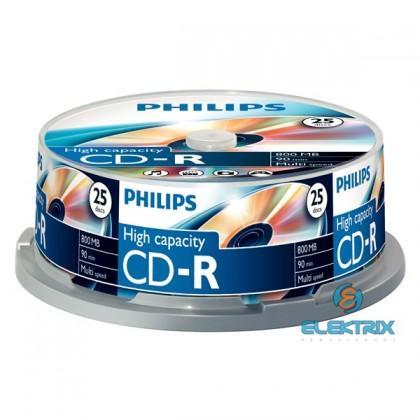 Philips CD-R80CB 52x cake box lemez 10db/csomag