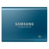 Samsung 250GB USB 3.1 (MU-PA250B/EU) kék T5 külső SSD