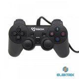 Sbox GP-2009 PS2,PS3,PC digitális USB gamepad
