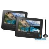 Sencor SPV 7772TD hordozható DVD lejátszó TV tunerrel