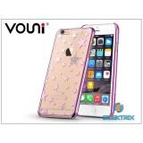 Vouni ST969011- Crystal STAR iPhone 6+/6S+ rózsa rózsaszín hátlap