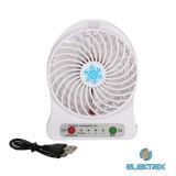 iTotal CM2314BW mini fehér ventilátor