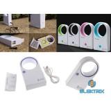 iTotal CM2299B USB mini kék lapát nélküli ventilátor