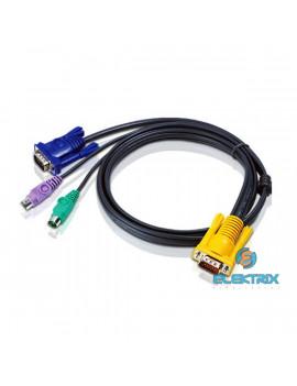 ATEN 2L-5202P KVM Kábel PS/2 VGA 1,8m