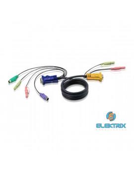 ATEN 2L-5302P KVM Kábel PS/2 VGA 1,8m