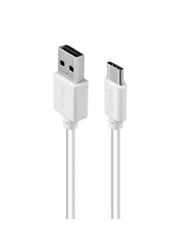 Acme CB1042W 2m fehér Type-C - USB adat és töltőkábel