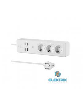 Acme SH3103 Smart Wifi 3m 4db USB 3-as elosztó