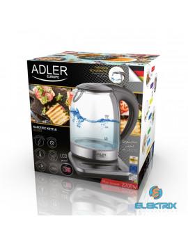 Adler AD1293 digitális hőmérséklet szabályozós vízforraló