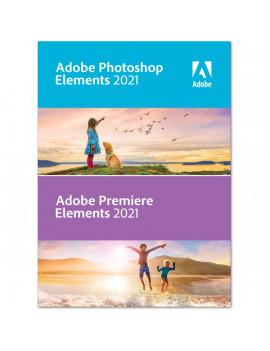Adobe Photoshop & Premiere Elements 2021 IE ENG MLP licenc szoftver