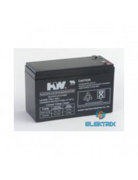Akku UPS Power 12V 7Ah zselés akkumulátor