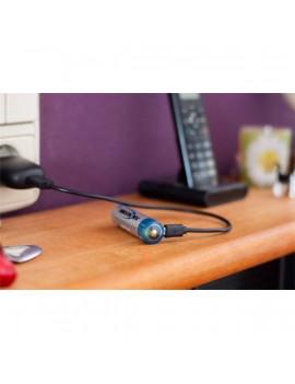 Ansmann 18650 Li-ion 3400mAh USB-vel tölthető védett akkumulátor
