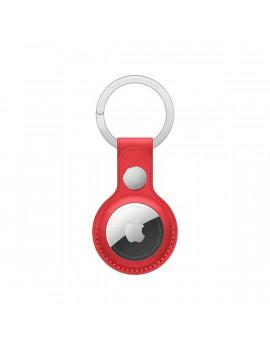 Apple AirTag (PRODUCT)RED piros bőr kulcstartó