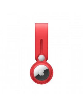 Apple AirTag (PRODUCT)RED piros bőr pánt