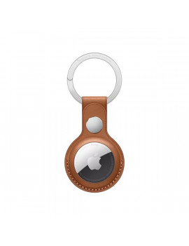 Apple AirTag barna bőr kulcstartó