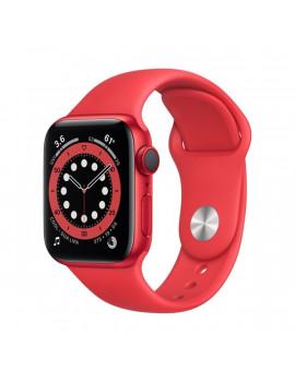 Apple Watch Series 6 GPS + Cellular 40mm PRODUCT(RED) alumíniumtok PRODUCT(RED) sportszíjas okosóra