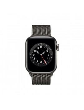Apple Watch Series 6 GPS + Cellular 40mm grafit rozsdamentes acél tok grafit milánói szíjas okosóra