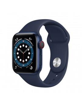 Apple Watch Series 6 GPS + Cellular 40mm kék alumíniumtok tengerészkék sportszíjas okosóra