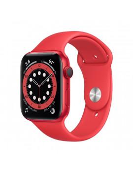 Apple Watch Series 6 GPS + Cellular 44mm PRODUCT(RED) alumíniumtok PRODUCT(RED) sportszíjas okosóra
