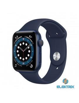 Apple Watch Series 6 GPS-es 40mm kék alumíniumtok tengerészkék sportszíjas okosóra