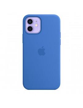 Apple iPhone 12/12 Pro kék MagSafe szilikon tok