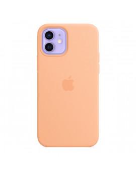 Apple iPhone 12/12 Pro sárgadinnye MagSafe szilikon tok
