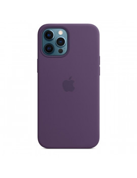 Apple iPhone 12 Pro Max ametiszt MagSafe szilikon tok