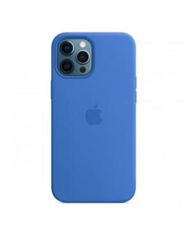 Apple iPhone 12 Pro Max kék MagSafe szilikon tok
