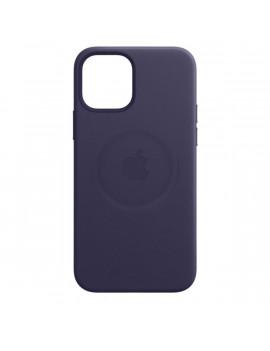 Apple iPhone 12 Pro Max lila MagSafe bőr tok