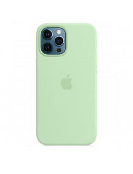 Apple iPhone 12 Pro Max pisztácia MagSafe szilikon tok