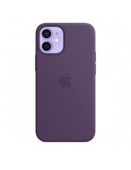 Apple iPhone 12 mini ametiszt MagSafe szilikon tok