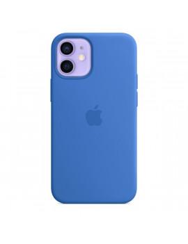 Apple iPhone 12 mini kék MagSafe szilikon tok