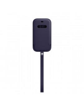 Apple iPhone 12 mini lila MagSafe bőr tok