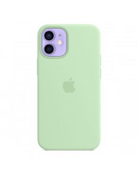 Apple iPhone 12 mini pisztácia MagSafe szilikon tok