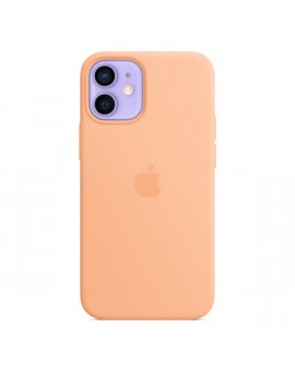 Apple iPhone 12 mini sárgadinnye MagSafe szilikon tok