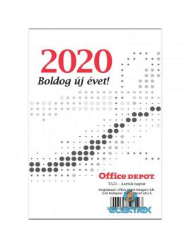 21TA 2021-es asztali naptár