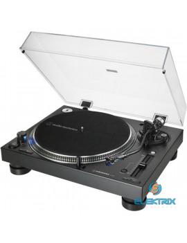 Audio-Technica AT-LP140XPBKE közvetlen hajtású professzionális fekete lemezjátszó