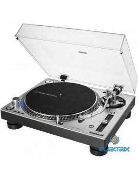 Audio-Technica AT-LP140XPSVE közvetlen hajtású professzionális szürke lemezjátszó