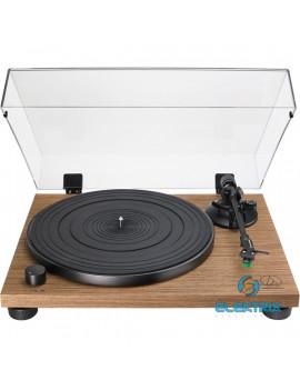 Audio-Technica AT-LPW40WN manuális szíjhajtásos diófa test lemezjátszó