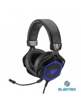 Aula Hex mikrofonos 7.1 gamer fejhallgató