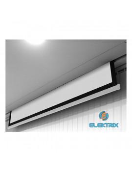 Avtek Cinema Electric 200 16:9 190x107cm matt fehér elektromos vetítővászon fekete kerettel
