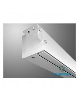 Avtek Video Electric 200 4:3 195x146cm matt fehér elektromos vetítővászon fekete kerettel