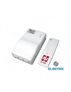 Avtek Wall Electric 200 4:3 200x150cm matt fehér elektromos vetítővászon fekete kerettel