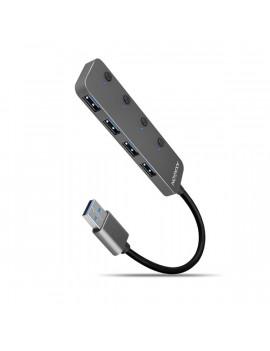 Axagon HUE-MSA 4 portos USB3.0 switch HUB