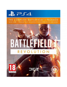 Battlefield 1 Revolution Edition PS4 játékszoftver