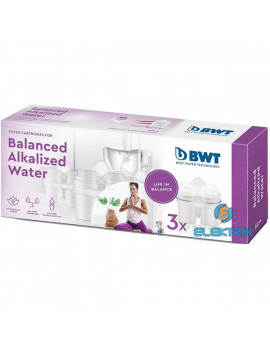 BWT 814463 Balanced Alkalized 3 db-os vízszűrő patron