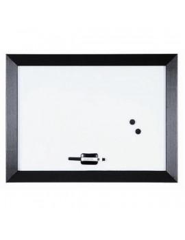 Bi-Office Kamashi 60x45cm fehér-fekete mágneses fehértábla