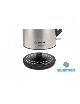 Bosch TWK3P420 DesignLine ezüst fekete vízforraló