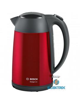 Bosch TWK3P424 DesignLine piros-fekete vízforraló