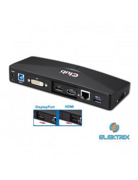 CLUB3D SenseVision USB 3.0 4K Docking Station